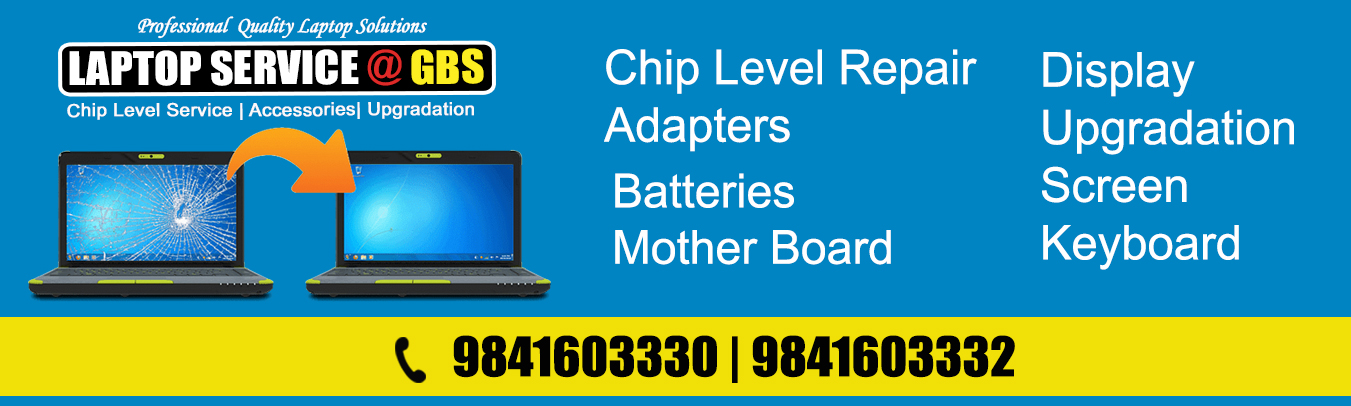 Dell laptop Service center in Anna Nagar, Tambaram, Adyar, Velachery, Chennai